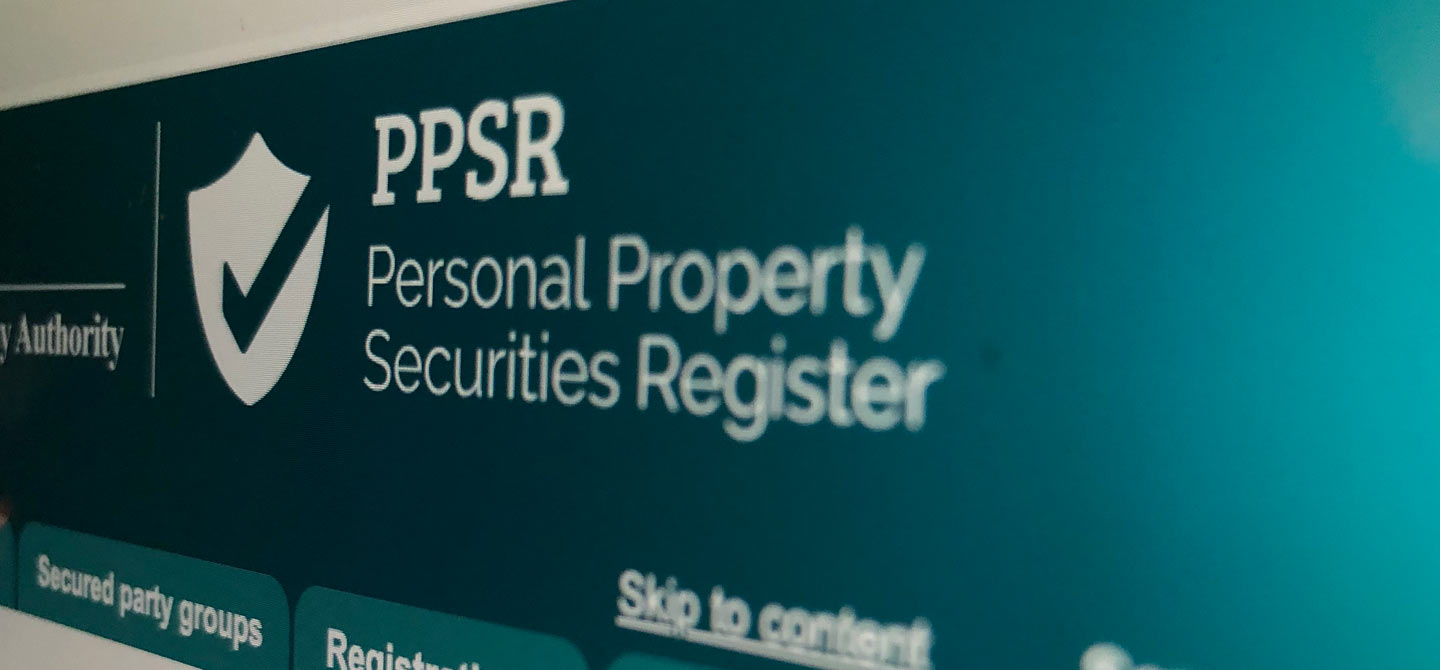 How do I Register a Security Interest?